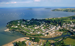 Abersoch Arial View